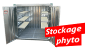 Stockage phytosanitaire